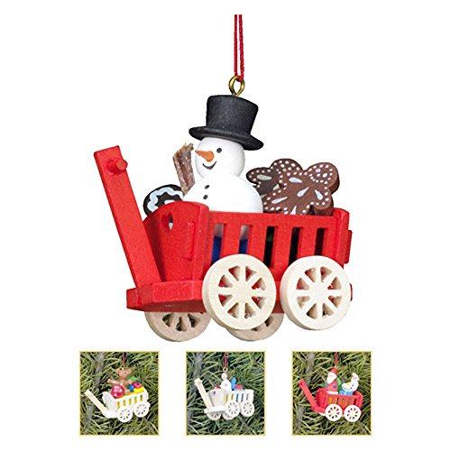Christian Ulbricht 2.25 in. Assorted Haywagon Ornaments – Set of 6
