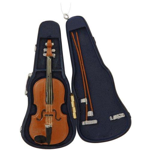 Violin With Case Ornament