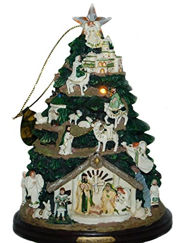 Thomas Kinkade Irish Nativity Tree Ornament
