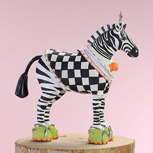 Patience Brewster Christmas Home Decor Mini Zeke Zebra Ornament 30998