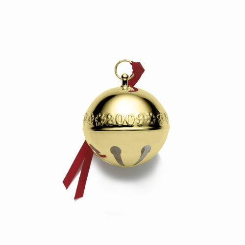 Wallace Gold Plated Sleigh Bell, Christmas Ornament 20th Edition