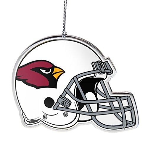NFL Arizona Cardinals Flat Metal Helmet Ornament