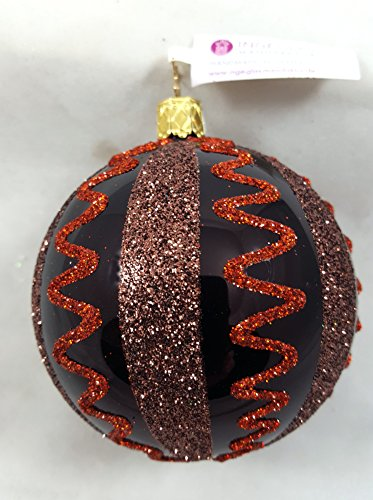 Inge-Glas Copper Waves Glass Ornament Made in Germany Halloween