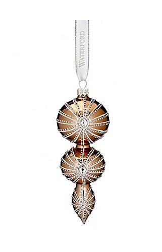 Waterford 2016 Holiday Heirloom Opulence Georgian Triple Spire Ornament