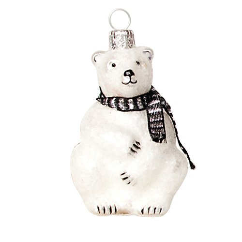 Ornaments to Remember: POLAR BEAR Christmas Ornament