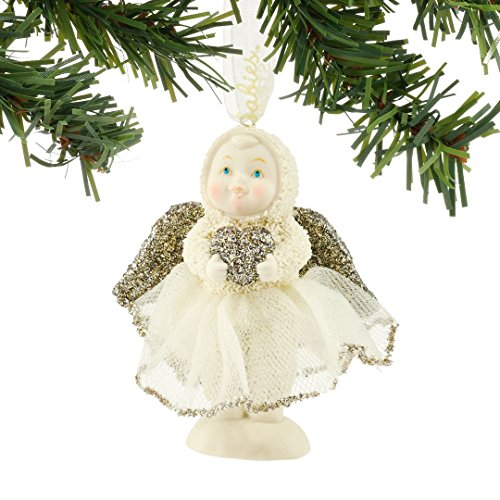 Snowbabies Sweetheart Angel Baby Porcelain Christmas Ornament 4051920 New Babys