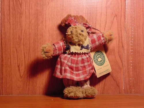 "Boyds Bears ""Mocha Mooseby"" Plush Ornament (5″)"