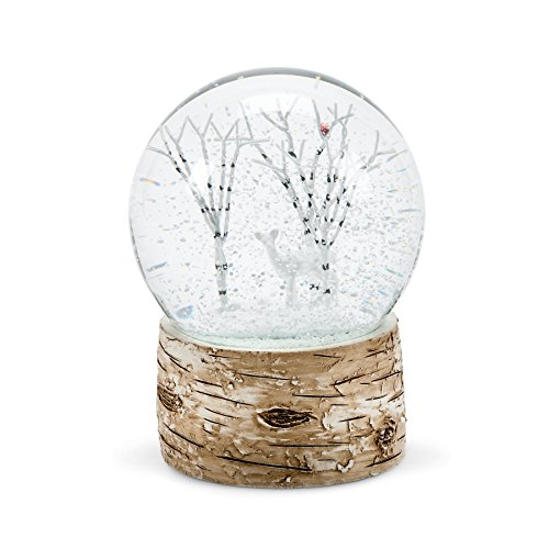 Abbott Collection Deer Snow Globe