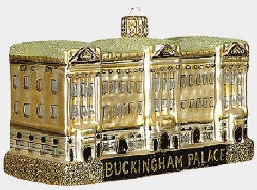 Buckingham Palace London England Polish Glass Christmas Ornament Decoration