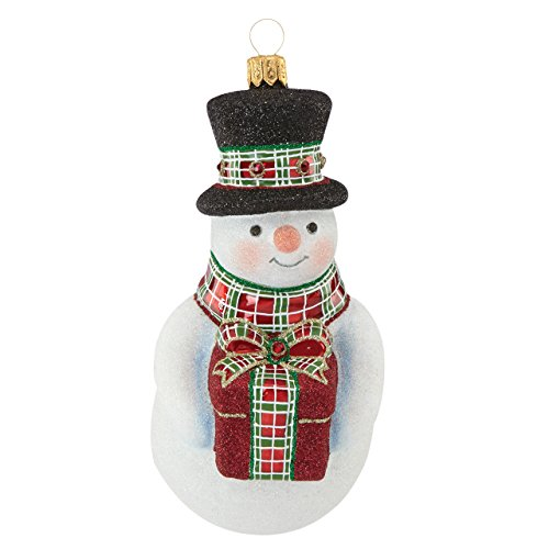 Reed & Barton Christmas Reflections Annual Snowman Ornament