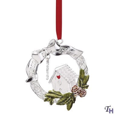 Lenox 2013 Bless This Home Metal Ornament