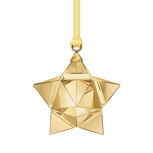 Swarovski Star Ornament, Small, Gold Tone
