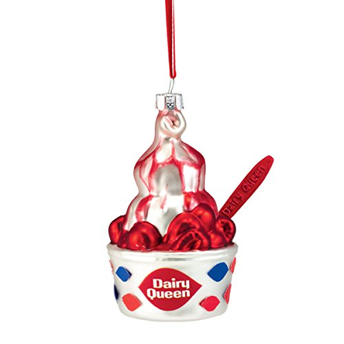 Department 56 Dairy Queen Ornament, 4.5″