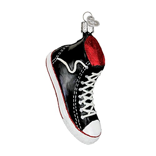 Old World Christmas High Top Sneaker Glass Blown Ornament