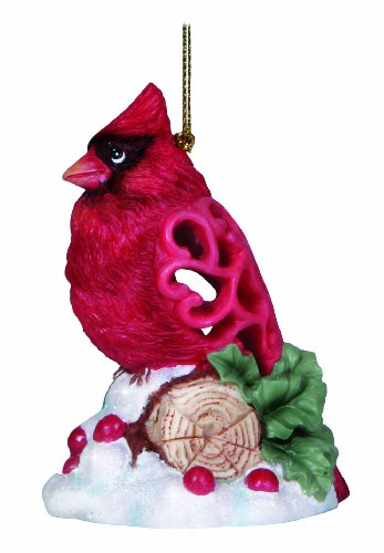 Precious Moments Cardinal Brighten Up Ornament