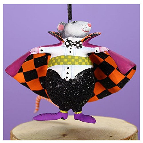Patience Brewster Halloween Home Decor Mini Mr. Ratula Ornament