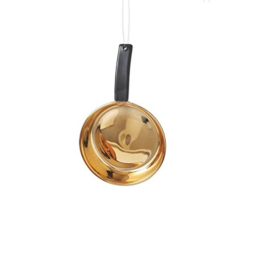 4″ Realistic Copper Skillet Pan Cookware Christmas Ornament