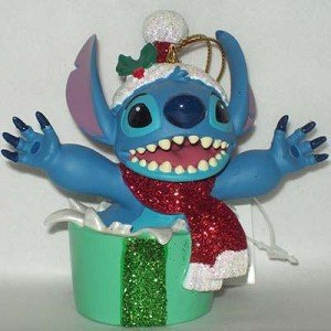 Disney Holiday Stitch Christmas Present Ornament – Disney Theme Parks Exclusive & Limited Availability