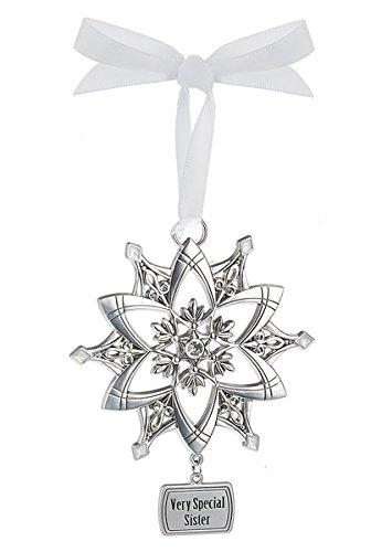 Ganz Snowflake Ornament – Very Special Sister