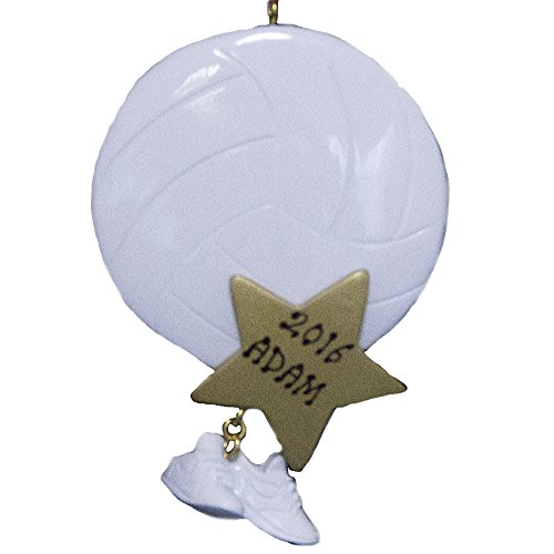Personalized Volleyball Ornament -Free Personalization