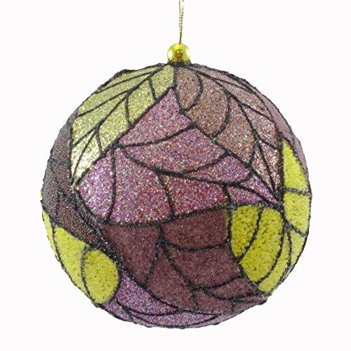 Holiday Ornament TOBACCO LEAF BALL Christmas Jim Marvin B95220642