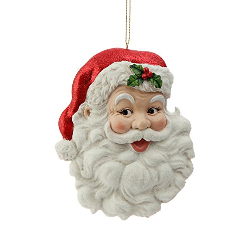 5.5″ Santa Face Ornament