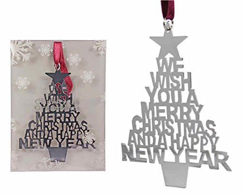 "Wish You A Merry ""Tree"" Ornament"