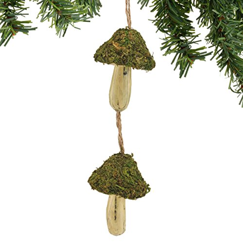 Department 56 Gnome for The Holidays Mushroom Dangle Ornament