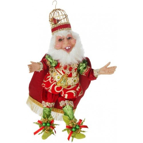 Mark Roberts 4 Calling Birds Elf Small 12 Inches