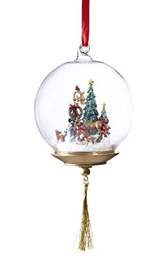 Breyer First Holiday Glass Globe Ornament by Breyer