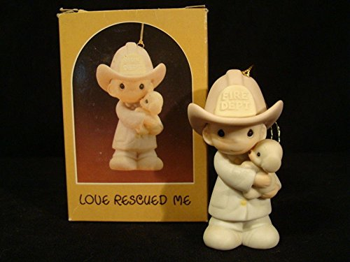 Precious Moments Ornament – Love Rescued Me #102385