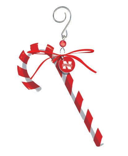 University of Nebraska Huskers Candy Cane Christmas Ornament