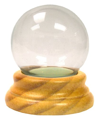 Snow Globe with Wood Base Makes a Fun Project For Do-It-Yourselfers
