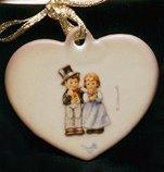 M I Hummel Dearly Beloved Ornament