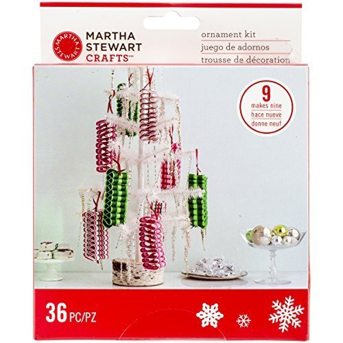 Martha Stewart Crafts Christmas Candy Cane Ribbon Ornament Kit by LONG KING PRINTING COMPANY LIMITED