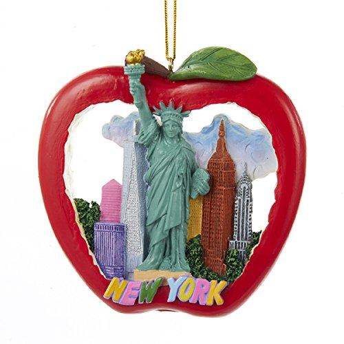 Kurt Adler New York Apple Ornament