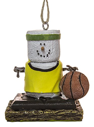 S'Mores Basketball Player Christmas/ Everyday Ornament