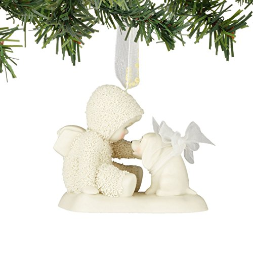 Snowbabies Celebrations My First Puppy Porcelain Christmas Ornament 4051927 New