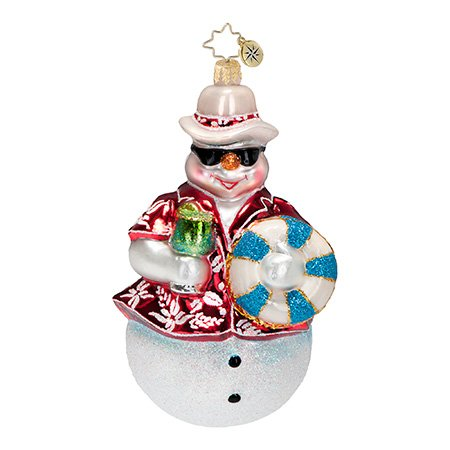 Christopher Radko Summer Frost Christmas Ornament