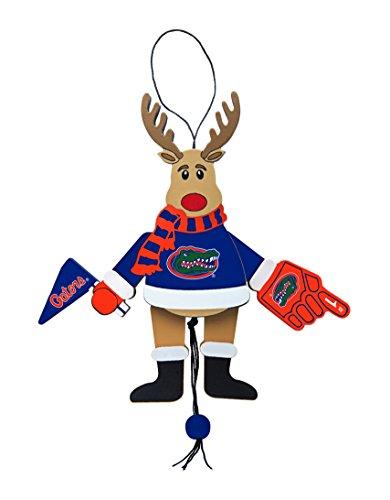 NCAA Florida Gators Wooden Cheer Ornament