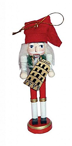 Santa's Workshop Nationality Nutcracker Ornament (Italian)