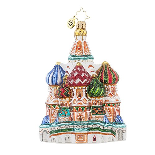 Christopher Radko Fancy Cupola Christmas Ornament