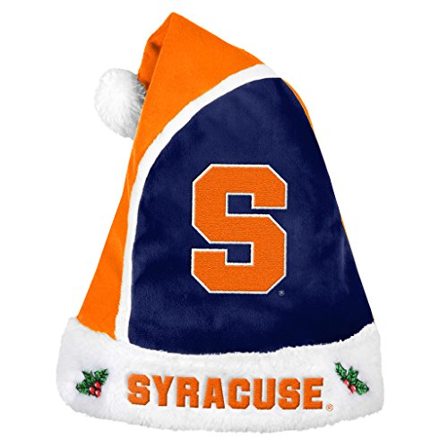 Forever Collectibles – NCAA 2015 Santa Hat, Syracuse University Orange