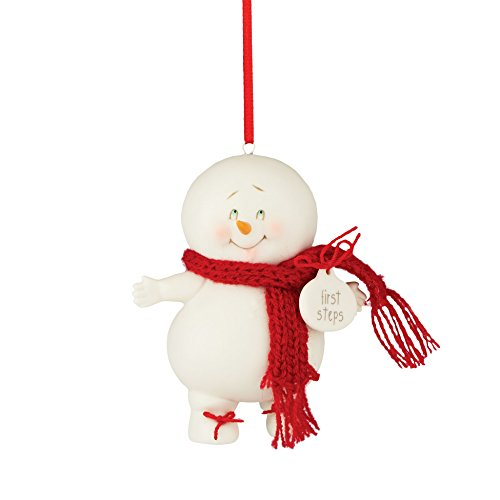 Department 56 Snowpinions From First Steps Ornament 3.31 In