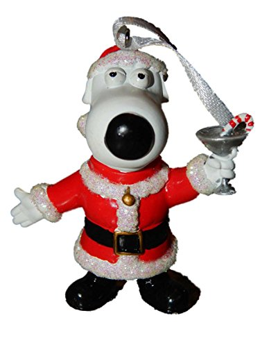 Family Guy Brian Santa Christmas Tree Holiday Ornament 63