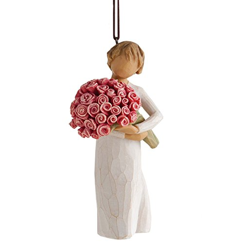 Willow Tree Abundance of Love with Flowers Christmas Ornament 27575 Susan Lordi