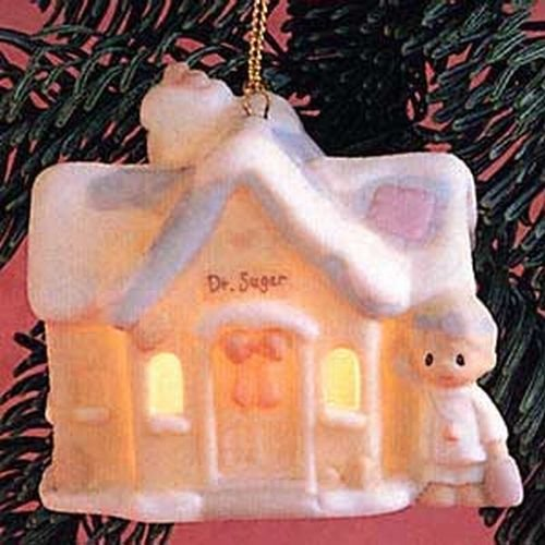 Precious Moments Sugar Town Hanging Christmas Ornament – Dr. Sugar's Office