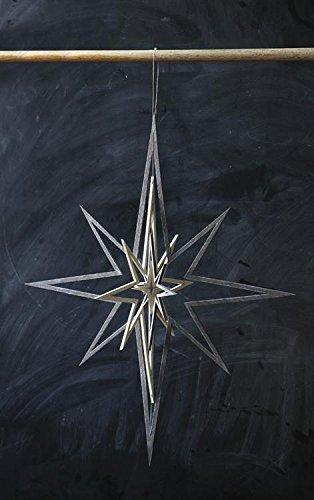 15″L x 24″H North Star Ornament
