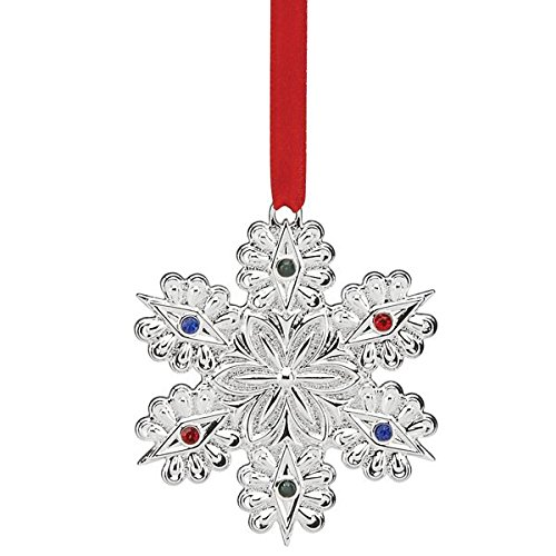Lenox Jeweled Snowflake Ornament