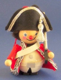 Steinbach Red Coat Soldier Wood Christmas Ornament